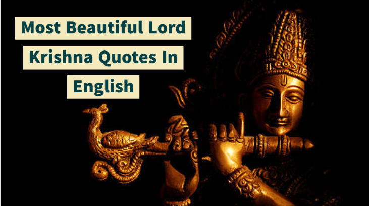 Most Beautiful Lord Krishna Quotes In English
